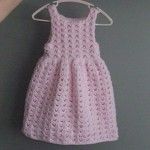 Baby Girl Picot Dress - Pattern in Progress