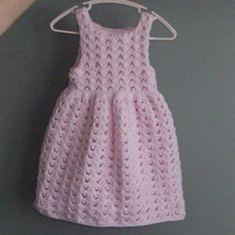 Girls Dress Designs on Baby Girl Picot Dress In Progress   Rhelena S Crochet Blog