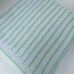 Beaded Stripes Baby Blanket