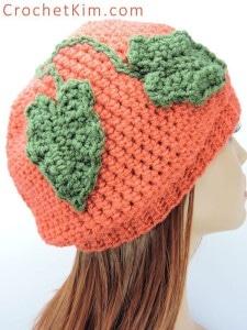 A Little Slouchy Pumpkin Hat by Crochet Kim