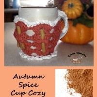 Autumn Spice Cup Cozy by Crochet Memories