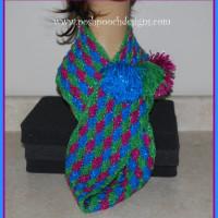 Gumdrop Sparkle Cowl by Posh Pooch Designs