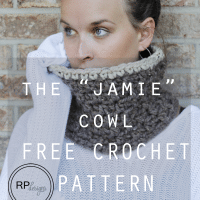 The Jamie Cowl by Easy Crochet