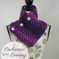 Enchanted Evening Button Cowl by The Stitchin' Mommy