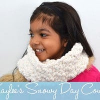 Kaylee's Snowy Day Cowl by The Stitchin' Mommy