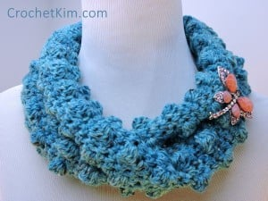 Wobbly Bobbly Cowl by CrochetKim