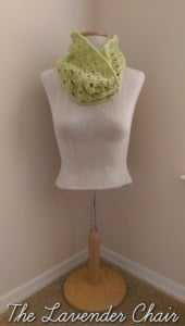 Stacked Shells Cowl by The Lavender Chair