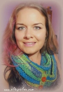 Budgie Infinity Scarf by Niftynnifer's Crochet & Crafts