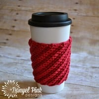 Crooked Coffee Cozy By Danyel Pink Designs