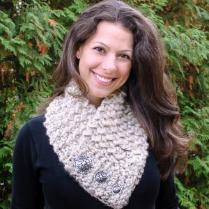 Quick and Comfy Scarf by Petals to Picots