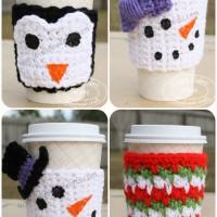 Winter Mug Cozy by Divine Debris