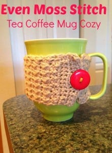 Crochet Coffee Mug Cozy Tutorial by Fabi Makes