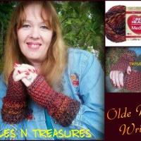 Olde World Wristers by Trifles N Treasures