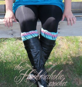 Kimbrely Boot Cuffs by Shannon Kilmartin for Cre8tion Crochet