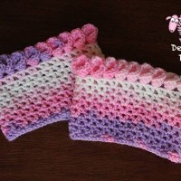 Canna Lily Crochet Boot Cuff by Dearest Debi