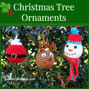 Christmas Tree Ornaments by Pattern Paradise