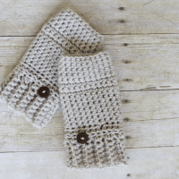 Andy Crochet Hand Warmer by Rescued Paw Designs