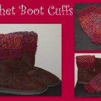 Crochet Boot Cuffs by Posh Pooch Designs
