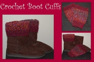 Crochet Boot Cuffs by Posh Pooch Designs