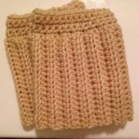 Crochet Boot Cuffs by Fabi Makes
