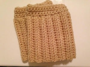 Crochet Boot Cuffs by Fabi Makes