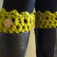 Friendship Boot Cuffs by Fiber Flux