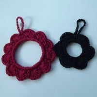 Flower Ornament by CrochetN'Crafts
