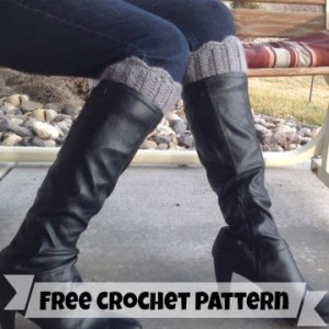 Scalloped Boot Cuffs by Danyel Pink Designs