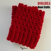 The Bonanza Boot Cuffs ~ FREE Crochet Pattern