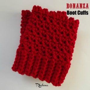The Bonanza Boot Cuffs ~ FREE Crochet Pattern