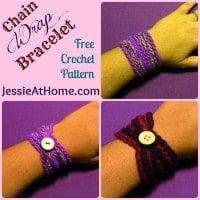 Chain Wrap Bracelet by Jessie At Home