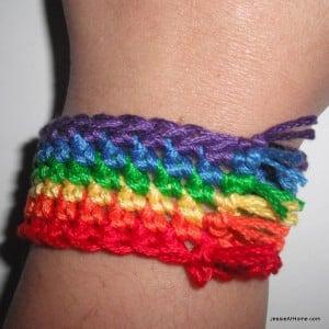 Rainbow Bracelet by Jessie At Home