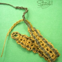 Crochet Hemp Bracelet by Stitch11