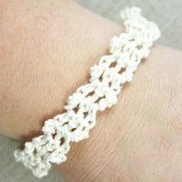 Lacy Bracelet by Oombawka Design