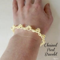 Chained Picot Bracelet by CrochetN'Crafts