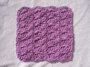 A Shell of a Washcloth by Stitch11