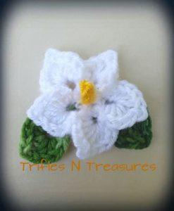 Totally Tropical Flower by Trifles N Treasures