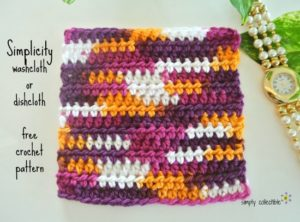 Simplicity Washcloth by Simply Collectible
