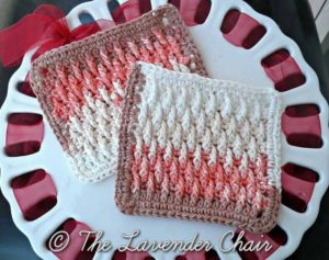 Textured Dishcloth by The Lavender Chair