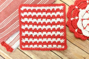 Crochet Dishcloth by Petals to Picots