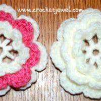 Layered Flower by Crochet Jewel