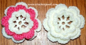 Layered Flower by Crochet Jewel