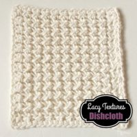 Lacy Textures Dishcloth by CrochetNCrafts