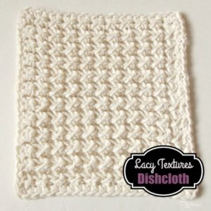 Lacy Textures Dishcloth by CrochetN'Crafts