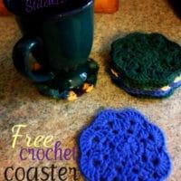 Crochet Coaster by Stitch11