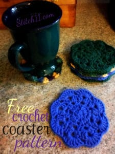 Crochet Coaster by Stitch11