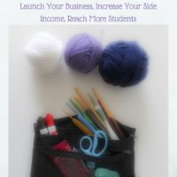 Make Money Teaching Crochet ~ A Book Review, an Interview with Marie Segares, and a Giveaway