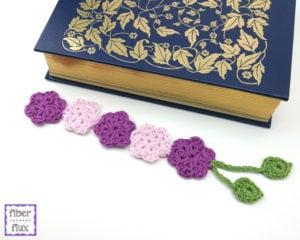 Botanical Bookmark by Fiber Flux