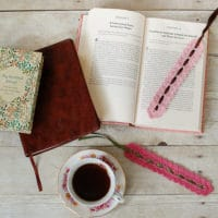 Pretty Lace Bookmark by Petals to Picots