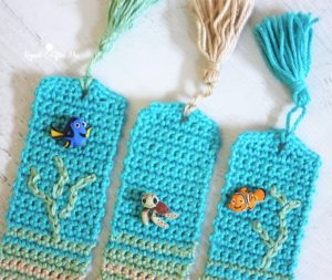 Beachy Bookmarks by Repeat Crafter Me
